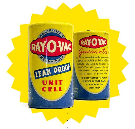 primeira pilha à prova de vazamentos 'selada em aço' é lançada por Rayovac